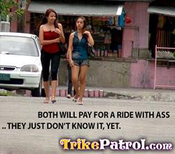 Filipina Trike Patrol